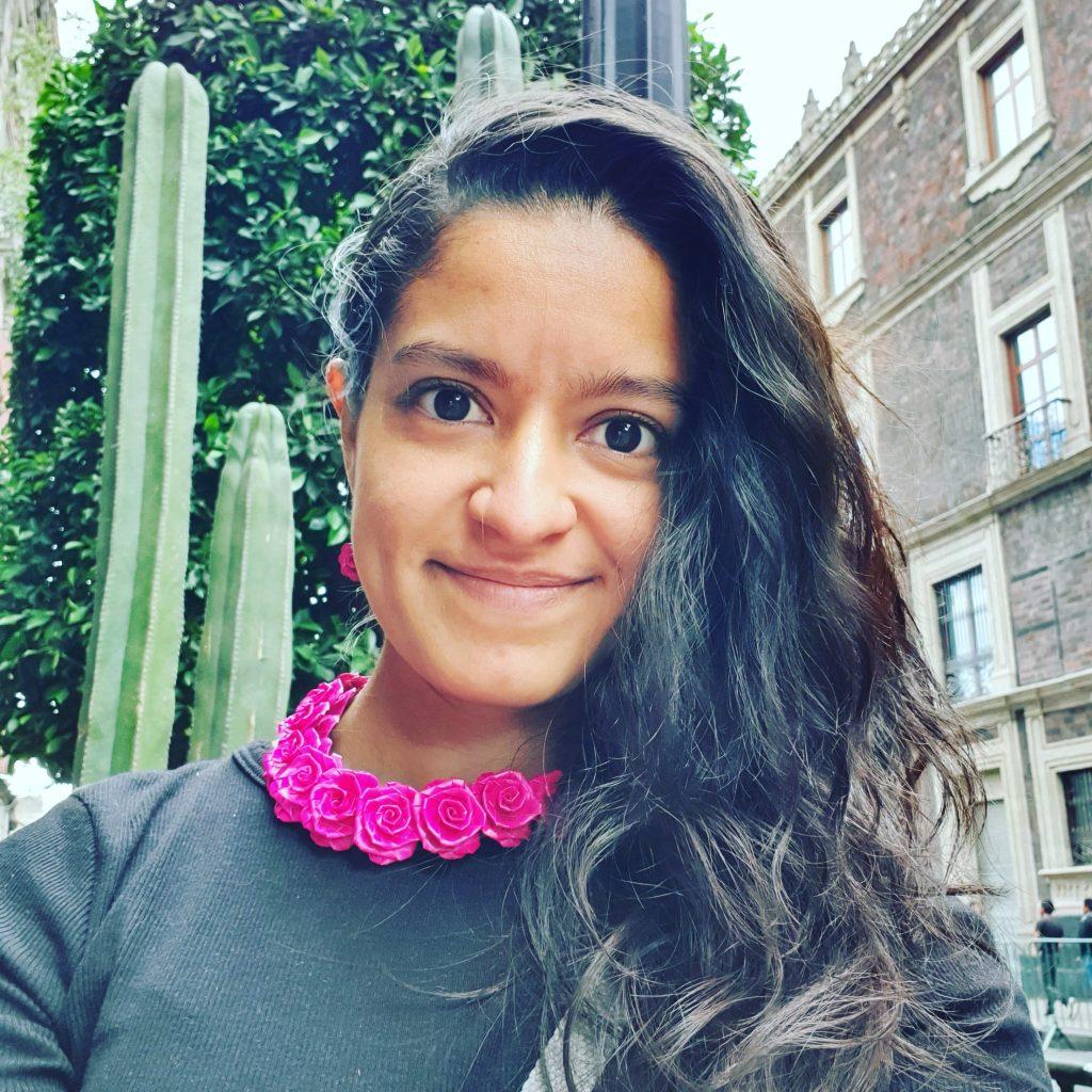Food stylist Mariana Gómez
